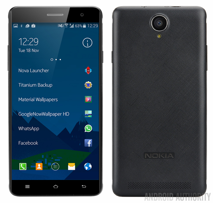 nokia A1 chạy Android